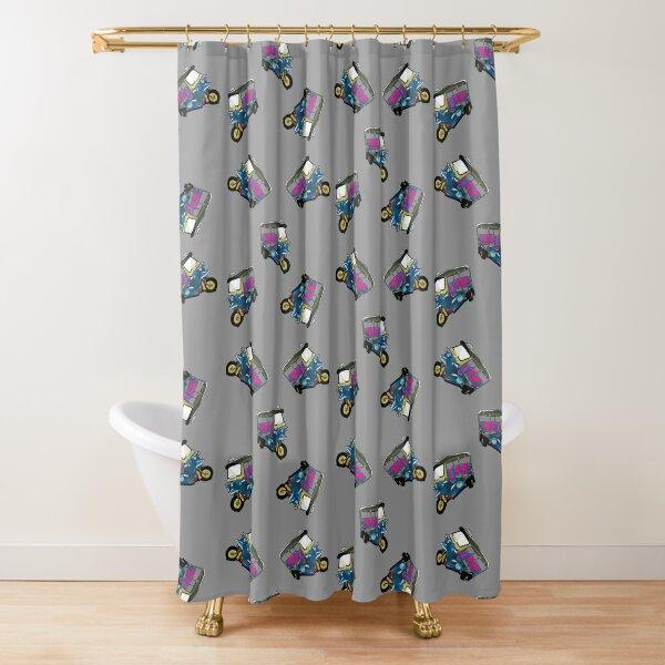 Tuk Tuk Shower Curtain