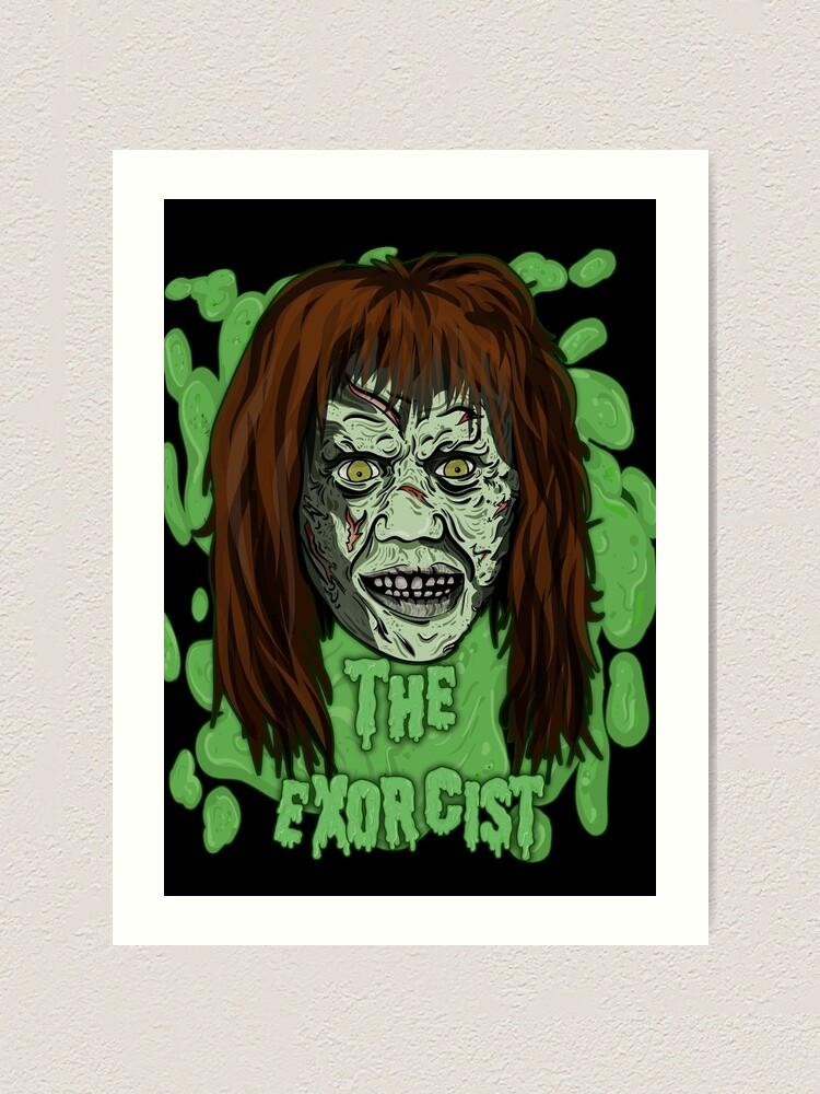 The Exorcist vinyl decal Linda Blair horror sticker cult classic