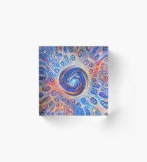 #Deepdreamed Abstraction Acrylic Block