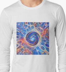 #Deepdreamed Abstraction Long Sleeve T-Shirt