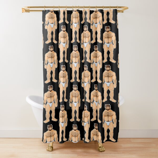 ADAM LIKES UNDERWEAR - CHARACTER ONLY Shower Curtain