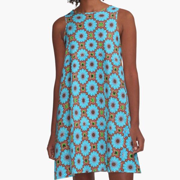 FLOWERS A-Line Dress