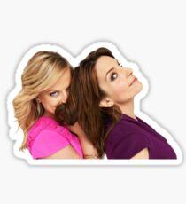 Tina and Amy Sticker