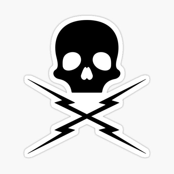 Death Proof Skull Sticker