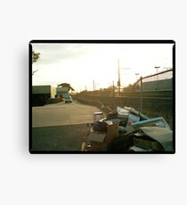 Hoppers Crossing Station Canvas Print