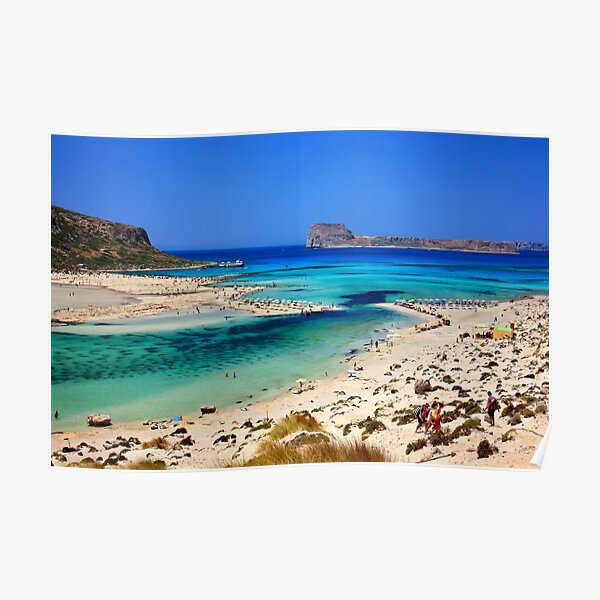 Balos magic - Crete island Poster