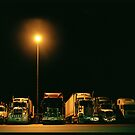 Truck Stop, Melbourne to Sydney by Ashleigh Helen Thomson