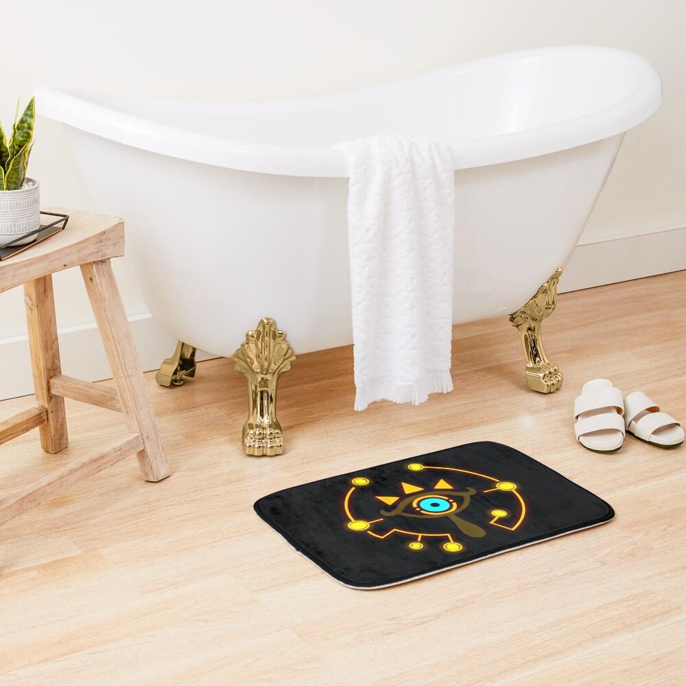 Sheikah Eye Bath Mat