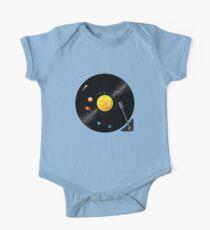 Solar System Schallplatte Baby Body Kurzarm