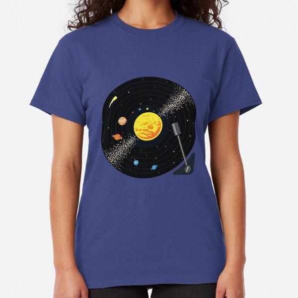 Solar System Vinyl Record Classic T-Shirt