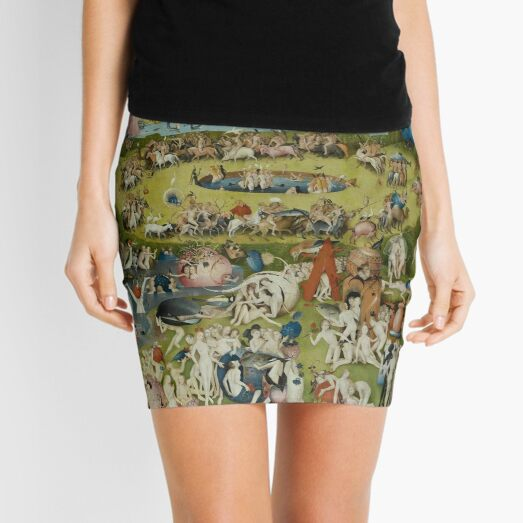 Garden of Earthly Delights Dress By Bosch Mini Skirt