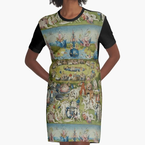 Garden of Earthly Delights Dress By Bosch Graphic T-Shirt Dress
