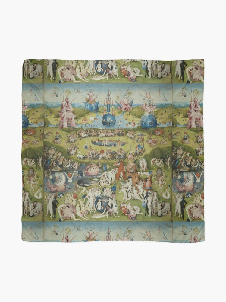 Alternate view of Garden of Earthly Delights Dress By Bosch Scarf