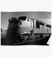 Bullnose diesel-electric locomotive Poster