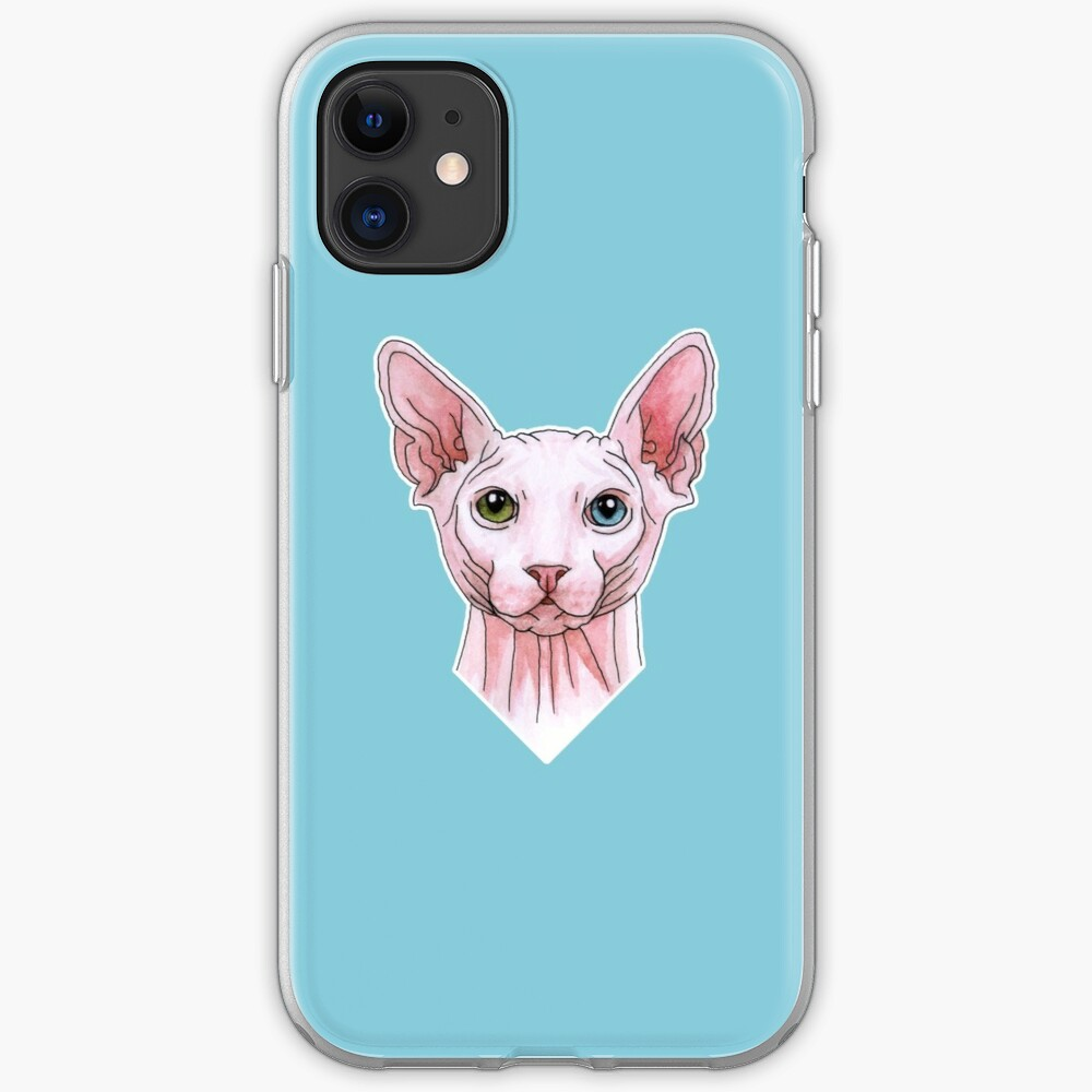 sphynx tattooed iPhone 11 case