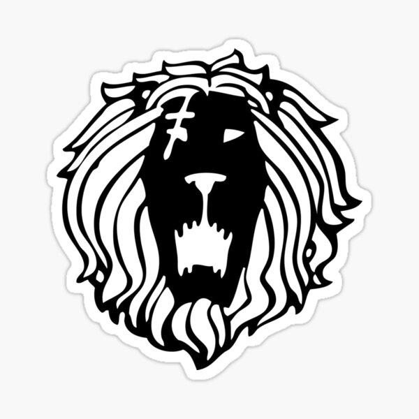 Símbolo de Escanor - El pecado del orgullo del león Pegatina