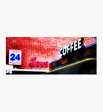 Love coffee Photographic Print