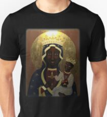 The Black Madonna Unisex T-Shirt