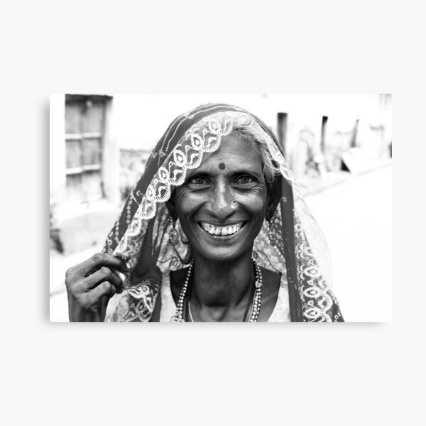 Smile, Life is just a moment Canvas Print