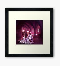 Come into my mind , join my world Framed Print