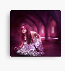 Come into my mind , join my world Canvas Print