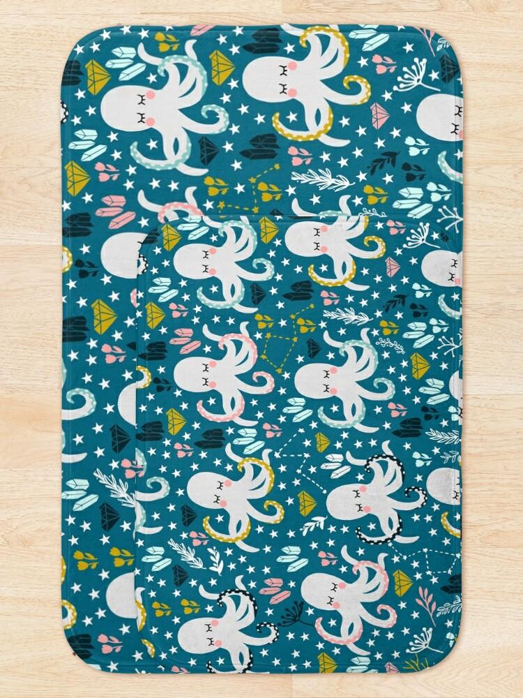 Alternate view of Cute Octopus Bath Mat