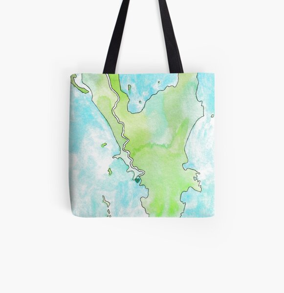 Wilson's Promontory All Over Print Tote Bag