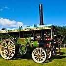 Burrell Showmans Road Locomotive by Trevor Kersley