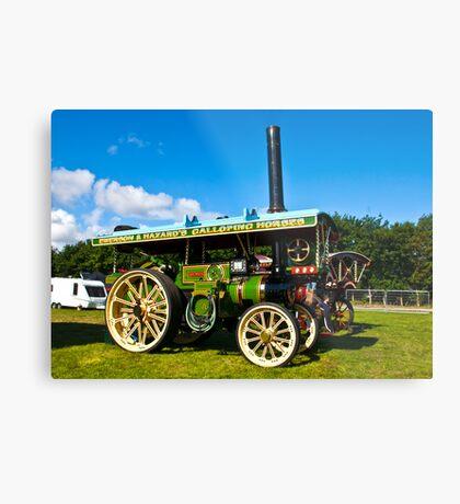 Burrell Showmans Road Locomotive Metal Print