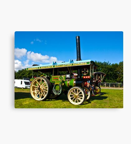 Burrell Showmans Road Locomotive Canvas Print