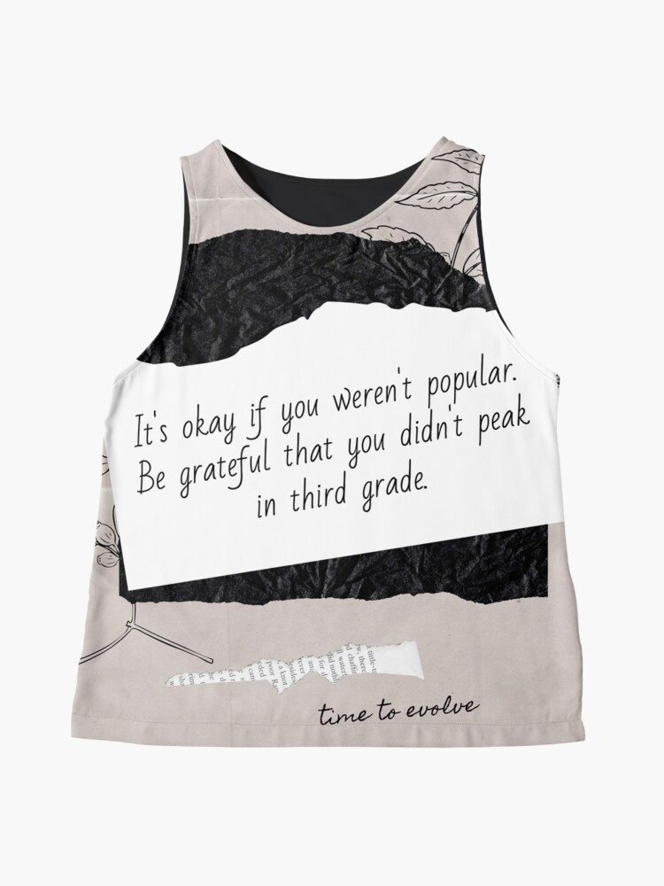 Alternate view of Popular in Junior School   Lesson Learned Sleeveless Top