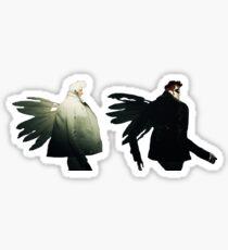 they walk they walk  Sticker