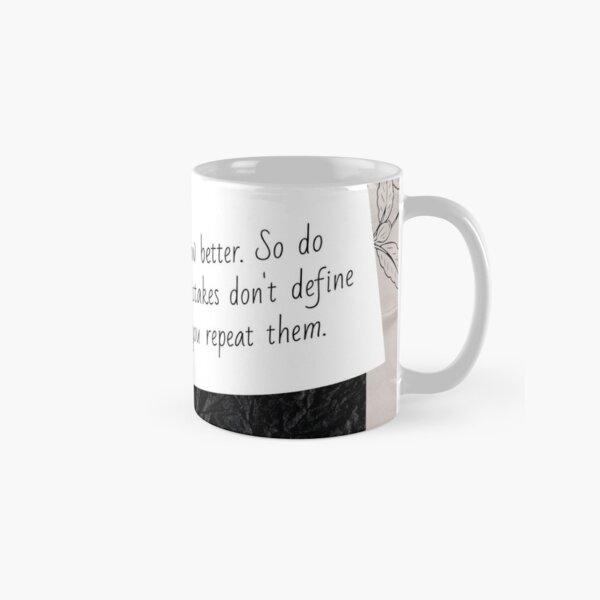 Do better | Lesson Learned Classic Mug