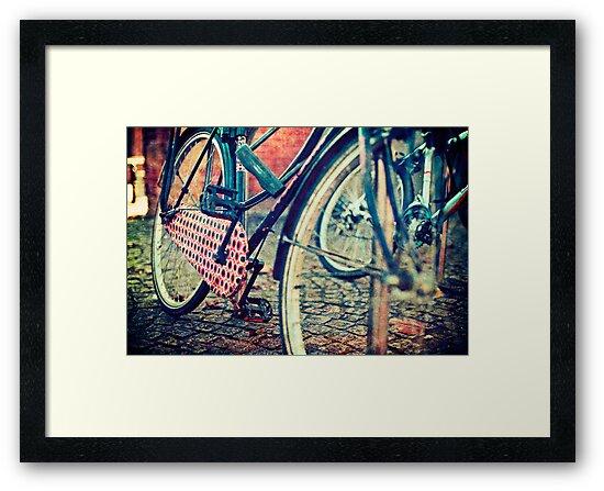 Vintage Bike by Sharonroseart