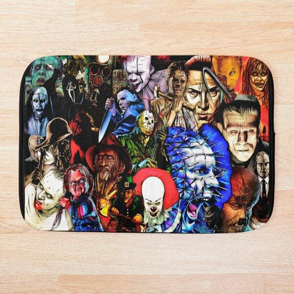 Collage Of Horror Bath Mat