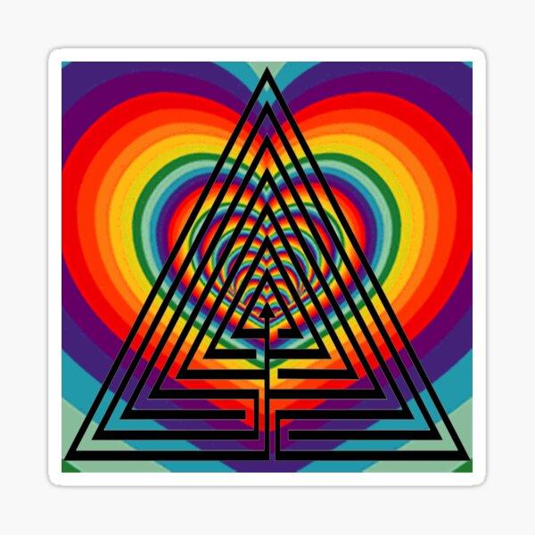 Graphic design, Field of study #Illustration, #design, #abstract, #pattern, art, decoration, shape, vector Sticker