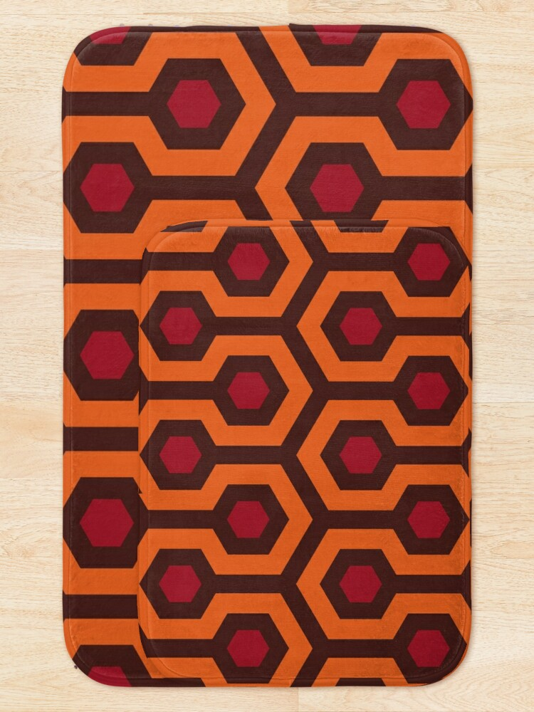 Alternate view of Overlook Hotel Carpet (The Shining)  Bath Mat