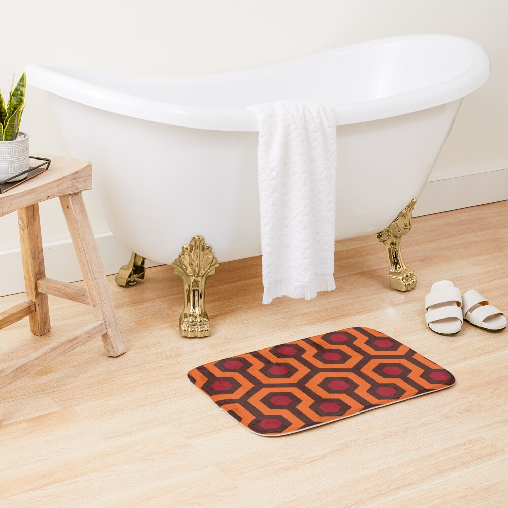 Overlook Hotel Carpet (The Shining)  Bath Mat