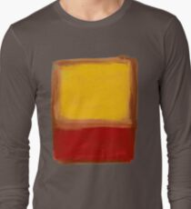 Mark Rothko - Red and Yellow (Abstract Expressionist Painting / Art) Long Sleeve T-Shirt