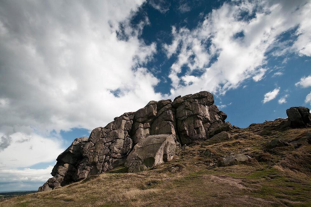 the rugged rocks by David Milnes