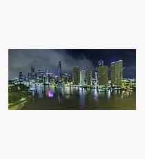 Brisbane - 1am Photographic Print