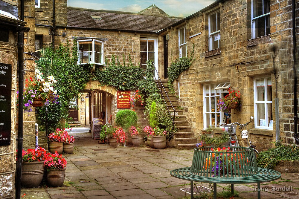 The Courtyard  by Irene  Burdell
