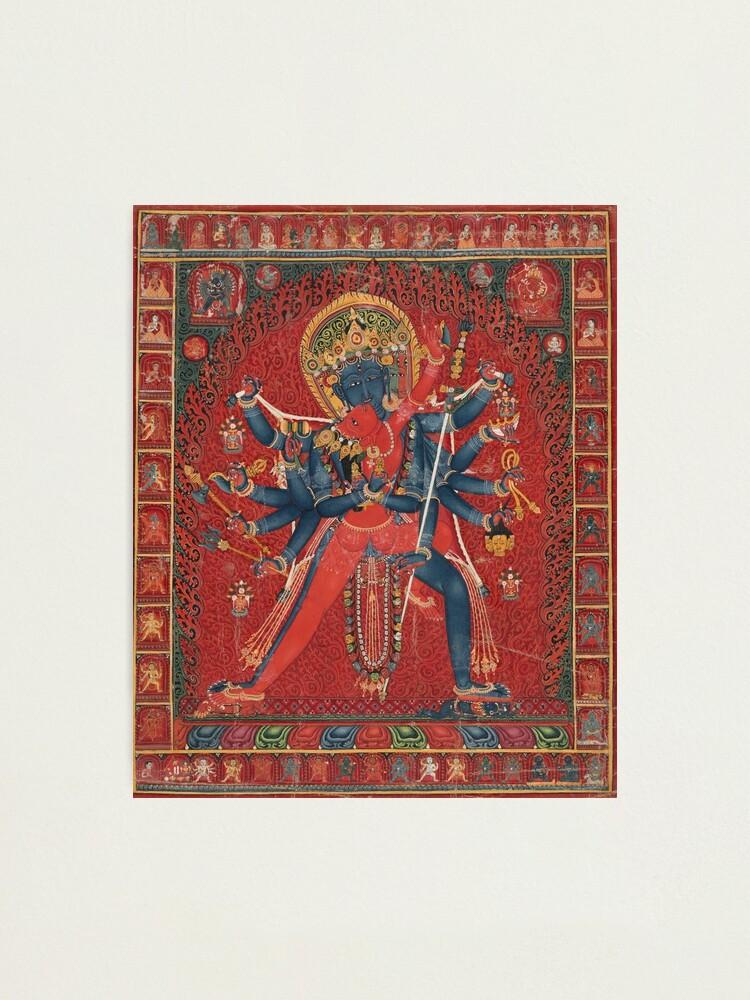 Art Print Chakrasamvara /& consort Vajravarahi Tibetan Painting Reproduction