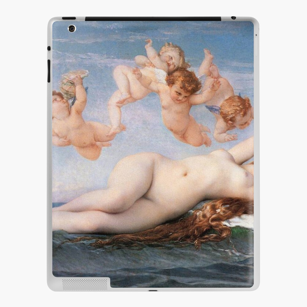 The #Birth of #Venus, Alexandre Cabanel 1875 #TheBirthofVenus #BirthofVenus iPad Case & Skin