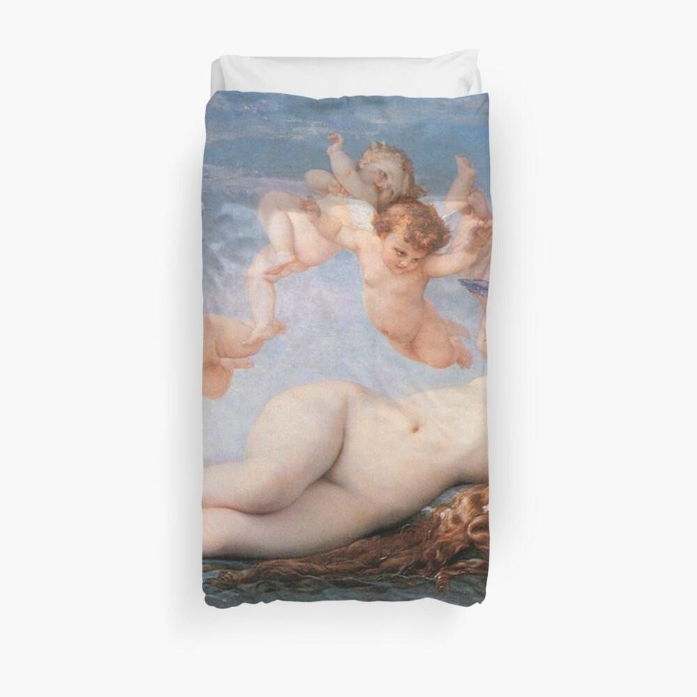 The #Birth of #Venus, Alexandre Cabanel 1875 #TheBirthofVenus #BirthofVenus Duvet Cover