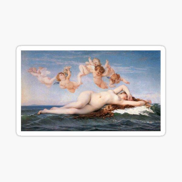 The #Birth of #Venus, Alexandre Cabanel 1875 #TheBirthofVenus #BirthofVenus Sticker