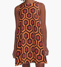 Vestido acampanado The Shining - Overlook Hotel Carpet pattern