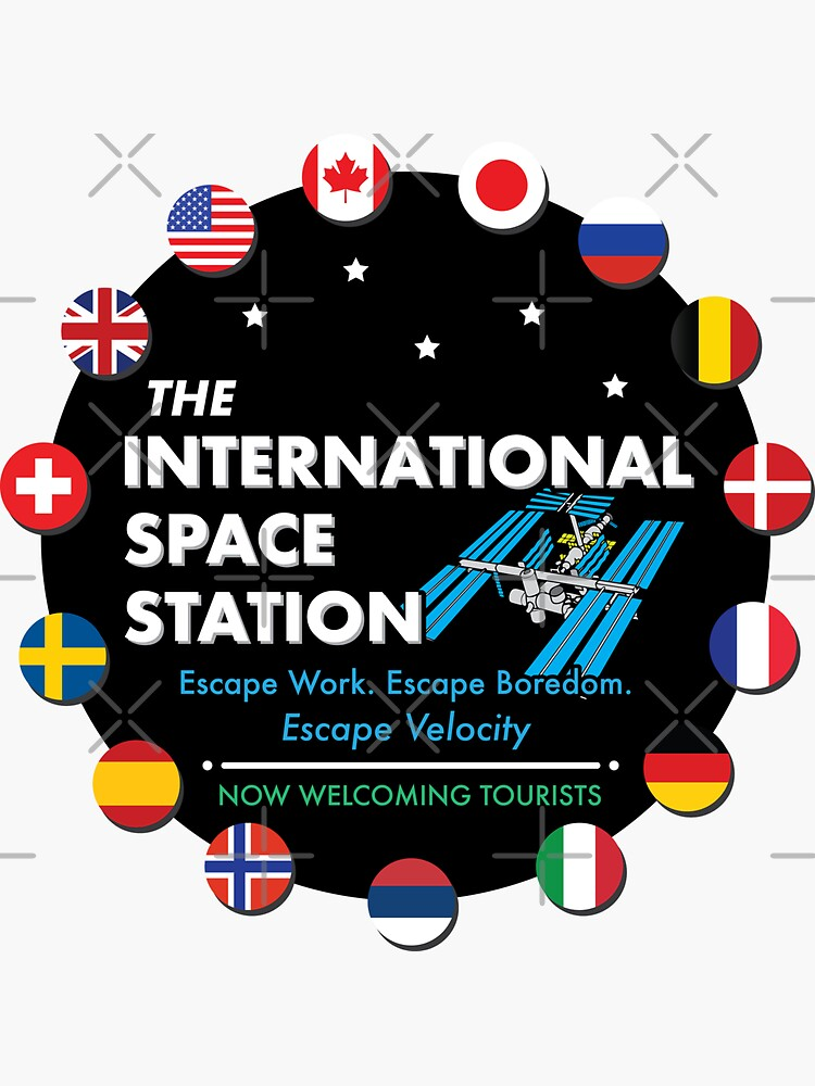 The International Space Station • Now Welcoming Tourists by brainthought