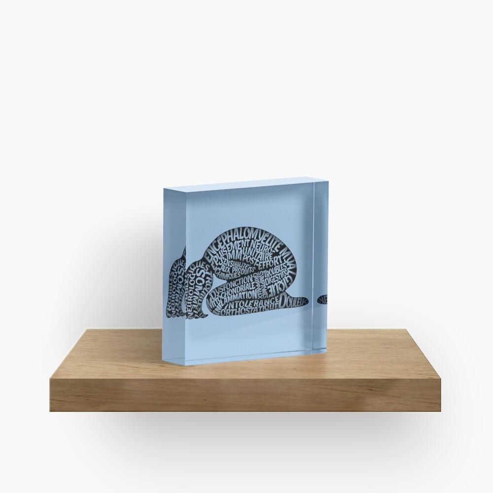 Les ravages de l'EM by Jill Thompson Acrylic Block