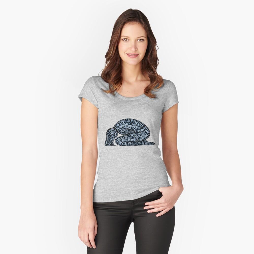 Les ravages de l'EM by Jill Thompson Fitted Scoop T-Shirt